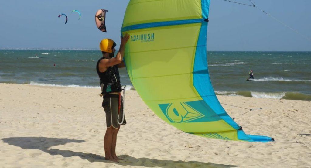 jibe's kite laucnh